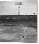 Baseball: Fenway Park, 1956 Wood Print