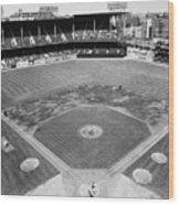 Baseball Game, C1953 Wood Print