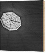 Basel Markthalle Wood Print