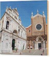 Basilica Dei Santo Giovanni E Paolo Wood Print
