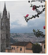 Basilica Del Voto Nacional Wood Print