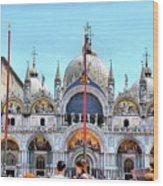 Basilica Di San Marco Wood Print