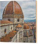 Basilica Di Santa Maria Del Fiore Wood Print