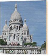 Basilica Du Sacre-coeur De Montmartre Wood Print