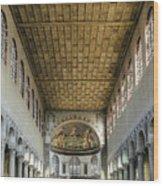 Basilica Of Saint Sabina Wood Print