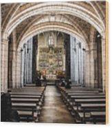 Basilica Of San Isidoro De Leon - Interior Wood Print