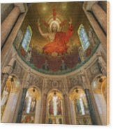 Basilica Of The National Shrine Wood Print