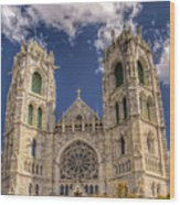 Basilica Of The Sacred Heart Newark New Jersey Wood Print