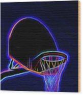Basketball 121617-1 Wood Print