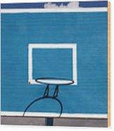 Basketball Backboard Wood Print