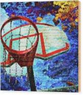Basketball Dream Wood Print
