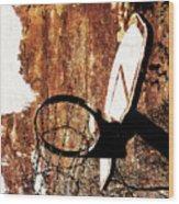 Basketball Hoop Version 6 Wood Print