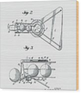 Basketball Practice Device Patent 1960 Part 2 Wood Print