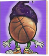 Basketball Wizard Wood Print