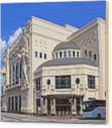 Bass Hall 5480mxx Wood Print