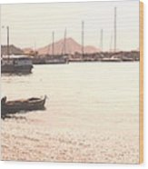 Basseterre Harbour Wood Print