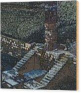 Bassin De Saint-ferreol Wood Print