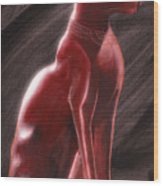 Bastet Wood Print