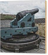 Bastion Gun Wood Print