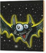 Bat Wood Print