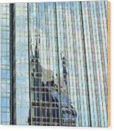 Bat Tower Reflected Wood Print