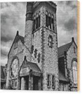 Batavia Baptist 2161 Wood Print