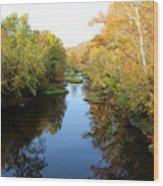 Batavia, Ohio Creek - Other Side Vertical Wood Print