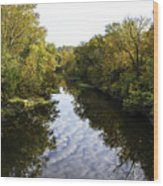 Batavia, Ohio Creek Vertical Wood Print