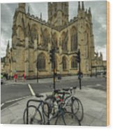 Bath Abbey 2.0 Wood Print