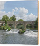 Bathampton Bridge Wood Print