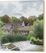 Bathampton Mill Wood Print