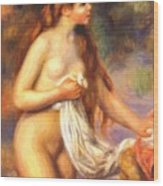 Bather 2 Wood Print