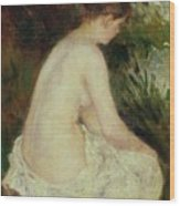 Bather Wood Print