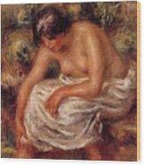 Bathing 1915 Wood Print