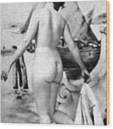 Bathing Nude, 1902 Wood Print