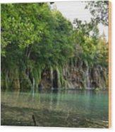 Batinovac Falls Wood Print