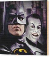 Batman 1989 Wood Print