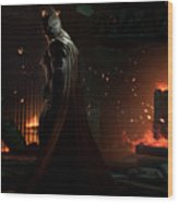 Batman Arkham Origins Wood Print