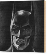 Batman Wood Print by Salman Ravish