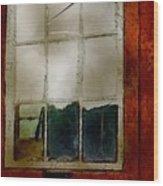 Battered Barn Wood Print