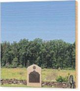 Battery C 3rd U S Artillery Wood Print