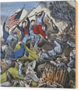 Battle Of Chattanooga 1863 Wood Print