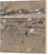 Battle Of Fredericksburg Wood Print by Granger