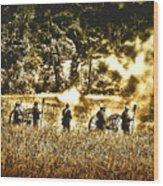 Battle Of Gettysburg Wood Print