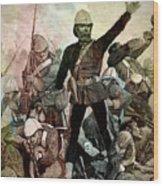 Battle Of Majuba Mountain  Wood Print
