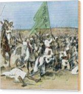 Battle Of Omdurman 1898 Wood Print