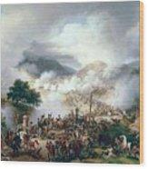 Battle Of Somo Sierra Wood Print
