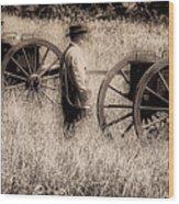 Battle Ready - Gettysburg Wood Print