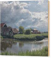 Battlesbridge Wood Print