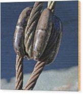 Battleship Texas Image 2 Wood Print
